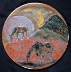 Ceramic Artists, Stoneware, Horses, Ceramics, Drawings, How To Make, Pictures, Ceramica, Photos