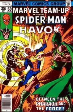 Marvel Comics Tales Spider Man Vol 1 No 205 Nov 1987 Havok Comic Book Vintage Marvel Comic Books, Comic Books Art, Comic Art, Book Art, Marvel Art, Spiderman Book, Amazing Spiderman, Spiderman Classic, Comics Vintage