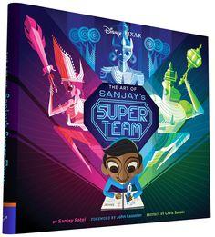 Art of Sanjay's Super Team (Hardcover)