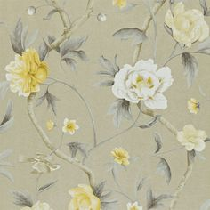 Zoffany - Luxury Fabric and Wallpaper Design | Products | British/UK Fabric and Wallpapers | Flowering Tree (ZTRA05006) | Trade Routes Wallpapers
