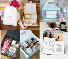 Wedding Welcome Bags - A great way to kick off your wedding weekend and great out of town guests!