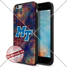 WADE CASE Middle Tennessee Blue Raiders Logo NCAA Cool Apple iPhone6 6S Case #1312 Black Smartphone Case Cover Collector TPU Rubber [Circle] WADE CASE http://www.amazon.com/dp/B017J7DEHM/ref=cm_sw_r_pi_dp_Cw3twb1NF65N4