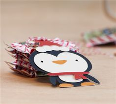 Cricut Project Center - Penguin Christmas Treat Tags