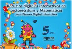 """Recursos complementarios, para pizarra digital interactiva, al material didáctico del proyecto """"Papelillos"""", de la Editorial Algaida, de Educación Infantil de 5 años: lectoescritura y matemáticas."""