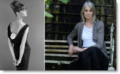 Actress, supermodel, cover girl Jean Shrimpton... then and now