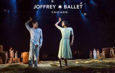 The Joffrey Ballet   Midsummer Night's Dream   Photo of Greig Matthews and Jeraldine Mendoza by Cheryl Mann
