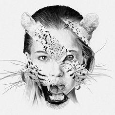 We ❤ © Chamo San #Art #Draw #Drawing #Illustration #Beautiful #Awesome #Visual #VisualArt #Digital #DigitalArt #Artist #Graphic #Design #WeLoveWeShare #ChamoSan #Vectoriel