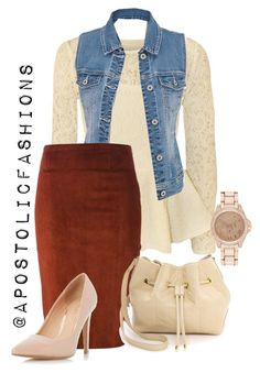 """Apostolic Fashions #1343"" by apostolicfashions ❤ liked on Polyvore featuring Papermoon, maurices, STOULS, Dorothy Perkins, Lauren Merkin and River Island"