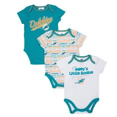 ec26caa1 16 Best Miami Dolphins Baby images in 2017 | Toddler outfits, Baby ...