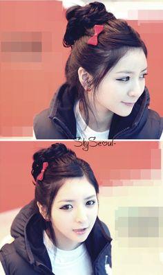 Hairstyle inspiration: cute bun