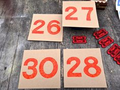 Industrial Numbers Green Numbers Red Numbers by MaxsUniquities
