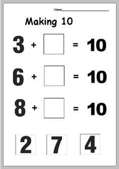 It`s a good activity for students to practice making 10. Print the pages and use them as individual tasks or group tasks. This resource is included in the following product Making 10Follow me on Pinterest Follow me on Facebook LEAVE FEEDBACK AND RECEIVE TPT CREDIT!Dear buyer, I wanted to remind you about the fact that you can build up TPT credit by leaving feedback on my products.