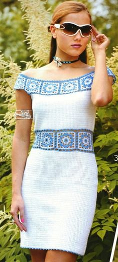 Wedding elegant crochet women dress by AsDidy on Etsy, $295.00