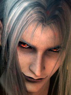'Sephiroth' looking wonderfully wicked...  (from Final Fantasy 7).