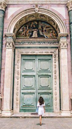 Italy, details for Basilica of Santa Maria Novella Florence