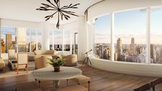 Manhattan's Upper East Side is synonymous with pre-war elegance, but these new construction condos are sophisticated enough for even the most discerning tastes. #luxuryliving #interiordesign #uppereastside #ues #newconstruction