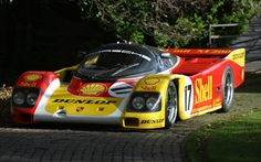 Porsche 962-010 Works - part of the Historic Porsche Collection