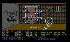 Maniac Mansion (Commodore 64).....great gaming