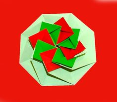 Origami gift envelope! Origami octagonal tato.  Great ideas for gift