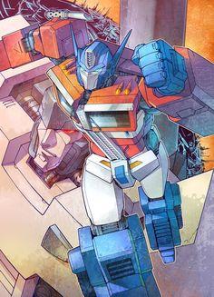 Transformers Optimus Prime and Megatron