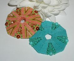 The flatter version of the Sand Dollar - The Beaded Carpet