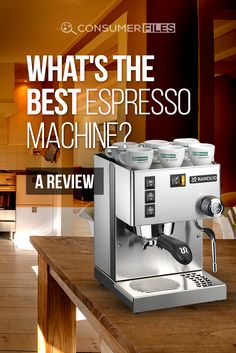 """To help you make the most informed buying decision, this article answers the question: """"What is the best espresso machine? Espresso Machine Reviews, Best Espresso Machine, Coffee Magazine, Barista, Coffee Maker, Good Things, Coffee Maker Machine, Coffee Percolator, Coffee Making Machine"""