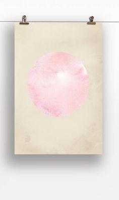 """Unser Designposter ,,Kreis"""" für frischen Wind an den Wänden.  Das Plakat kostet nur 9,00 € und ist in unserem Sop unbegrenzt verfügbar unter: https://supr.com/111dinge/designposter/wandbild-designposter-kreis/"""