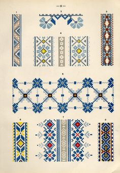 69 Super Ideas Embroidery For Beginners Letters Hands - sofia Cross Stitch Borders, Cross Stitch Flowers, Cross Stitch Designs, Cross Stitch Charts, Cross Stitching, Cross Stitch Patterns, Russian Embroidery, Folk Embroidery, Embroidery Designs
