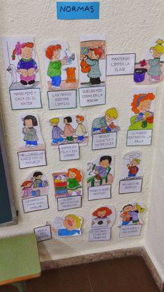 En estos primeros días de clase, estoy recordando con mis alumnos/as las normas de clase y los buenos hábitos que queremos seguir para ...