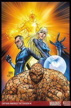 Michael Turner (In Memoriam) - Fantastic Four