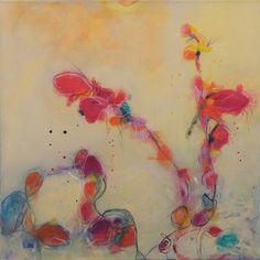 "Ashar Art; Mixed Media 2013 Painting ""summertime"""
