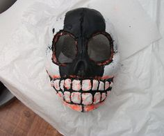 Fibreglass Halloween mask