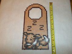 Perler Sleeping Eevee Door Hanger, $5 with $3 shipping at The Craft Garrison