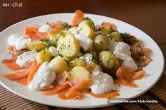 Salata od krompira i lososa