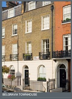 Luxury London property - Belgravia Townhouse from Rigby & Rigby.