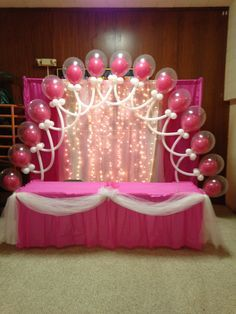 balloons and tulle arch - Google Search