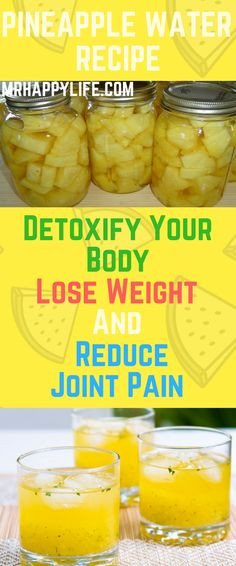 This pineapple-infused water recipe can help you lose weight, reduce the swelling and pain in your joints and reinforce your immune system. The water should be taken every morning before breakfast and it will provide you with a jolt of energy that will last throughout the day.