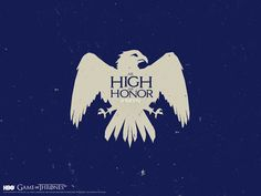 Motto of House Arryn: As High as Honor. #GameofThrones