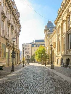 A street in the Old Town in Bucharest - find here what to do on a weekend in Bucharest, Romania. Europe Beaches, Places In Europe, Backpacking Europe, Europe Travel Tips, Bucharest Romania, Norway Travel, European Destination, Weekend Trips, Maputo