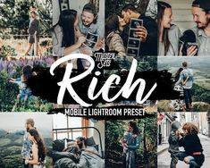 Mobile Lightroom Preset Rich Lifestyle Lightroom Presets Instagram Edition ❤ Bring out dark green and blue tones in your photos with this rich mobile preset. Perfect for your travel, blogger, portrait and landscape shots. ❤ Seamlessly edit your photos from your mobile phone with just