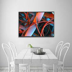 TWIST  24 x 36 print by Artbydannyc on Etsy #etsy #art #print #modern #macro #decor