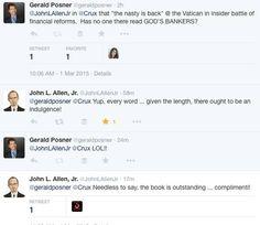 John L Allen, Jr on GOD'S BANKERS