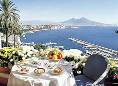Best Western Hotel Paradiso Naples Italy  Enjoy Your Breakfast!  #hotelviews #niceview #bestwestern