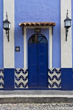 Ajijic Door, Jalisco, Mexico