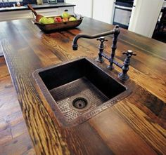 Supreme Kitchen Remodeling Choosing Your New Kitchen Countertops Ideas. Mind Blowing Kitchen Remodeling Choosing Your New Kitchen Countertops Ideas. Kitchen Decor, New Kitchen, Rustic Countertops, Home, Kitchen Design, Reclaimed Wood Counter, Kitchen Remodel, Wood Counter, Home Decor