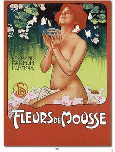 antique perfume ad