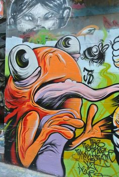 Street Art, Hosier Lane, Melbourne