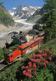 Montenvers Train & Mer de Glace, Switzerland