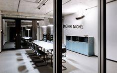 Modulare Büromöbel I Design Möbelbausystem für Grossraumbüros I Projekt Collins GmbH & Co. KG   System 180