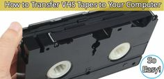 Ever Thought About Transferring Your Old VHS Tapes To Your Computer? This Is How…